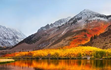 苹果MacBook Pro 高山脉4K风景高端电脑桌面壁纸