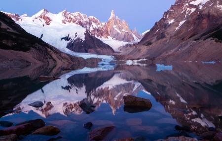 阿根廷巴塔哥尼亚的拉戈托雷4K风景高端电脑桌面壁纸