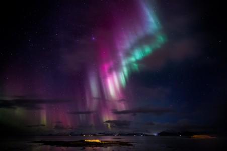 北方 夜空 星空 5K风景高端电脑桌面壁纸