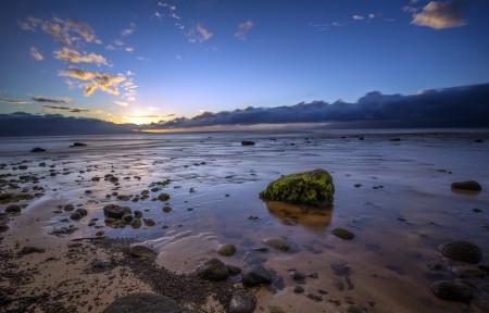 海滩自然风景4K高端电脑桌面壁纸