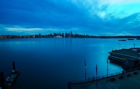 温哥华城市风光摄影3840x2160高端电脑桌面壁纸
