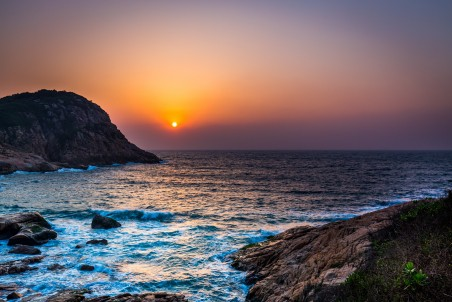 日出 海 天空 美景 5K风景高端电脑桌面壁纸