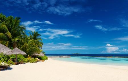 马尔代夫 岛屿 4K风景高端电脑桌面壁纸