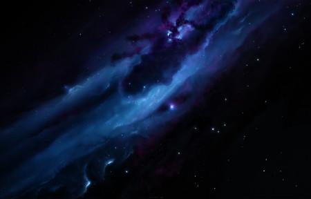 黑暗的背景 星云 星空 4K高端电脑桌面壁纸