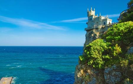 古来城堡4K风景高端电脑桌面壁纸
