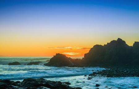 俄勒冈州阿拉戈角的日落 作者:jdphotopdx 4K风景高端电脑桌面壁纸