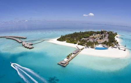 马尔代夫 塞舌尔 小岛 4K风景高端电脑桌面壁纸