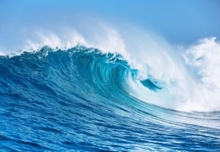 海水 飞溅 海洋 海波 海浪 4K风景高端电脑桌面壁纸