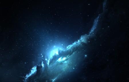 夜晚 神秘宇宙 星空4K高端电脑桌面壁纸