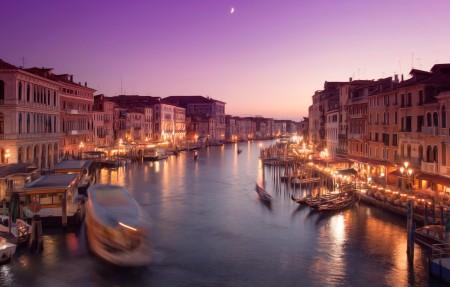 威尼斯 里亚托桥 4K风景高端电脑桌面壁纸
