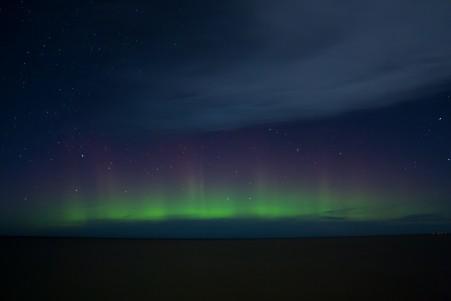 北极光 天空 夜 星空4K高端电脑桌面壁纸