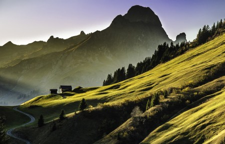山 高山 4K风景高端电脑桌面壁纸