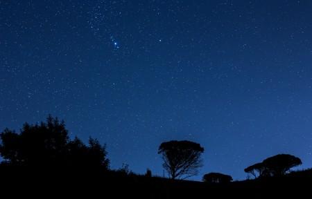 美丽的夜空风景4K高端电脑桌面壁纸