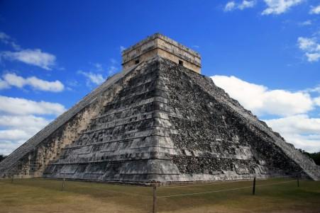 金字塔 玛雅 古代 墨西哥 纪念碑 4K高端电脑桌面壁纸