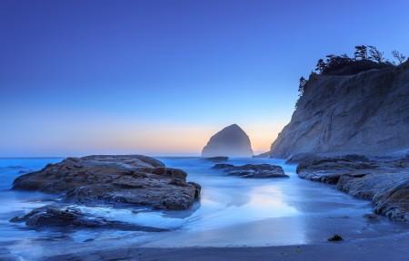 俄勒冈州 太平洋城的日落 作者 jdphotopdx 4K风景高端电脑桌面壁纸 3840x2400