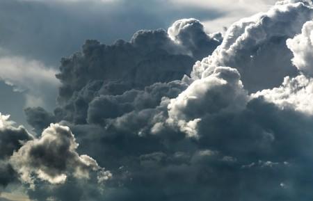 天空 云 黑暗 厚厚的云 5K高端电脑桌面壁纸