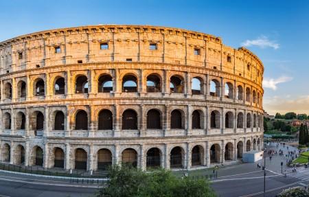 意大利古罗马竞技场罗马斗兽场全景4K超高清壁纸精选