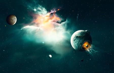 空间宇宙星系4K壁纸超高清图片下载