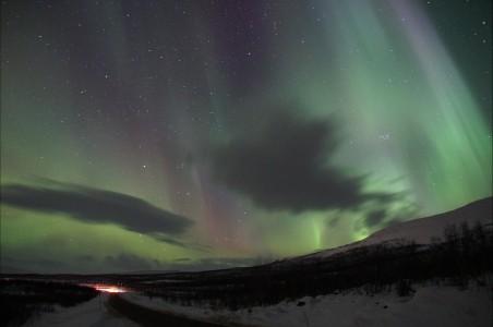 北极光 极光 太阳风 4K风景高端电脑桌面壁纸