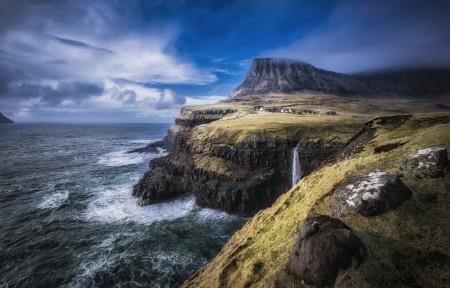 法罗岛 北大西洋 5K风景图片