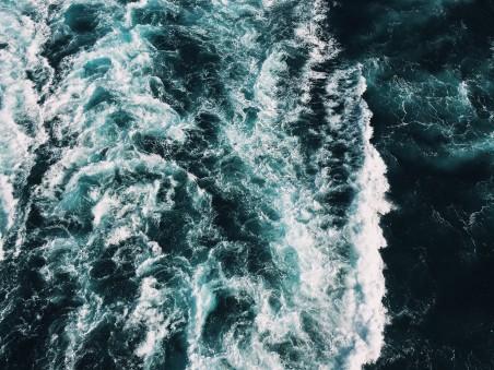 大海 海洋 波浪 4K高端电脑桌面壁纸