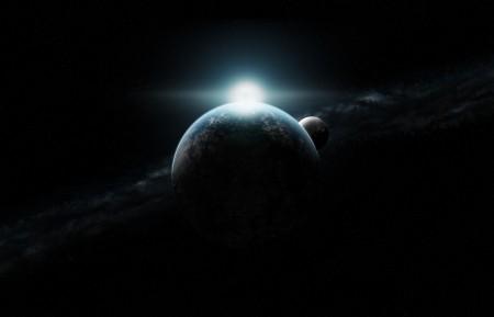 月亮 行星 恒星 星空6K高端电脑桌面壁纸