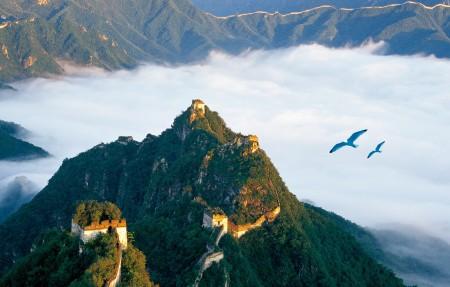 长城云海风景6K图片