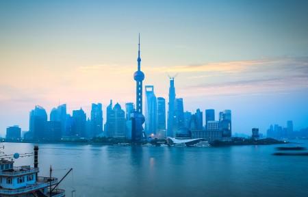 上海外滩风景5K高端电脑桌面壁纸