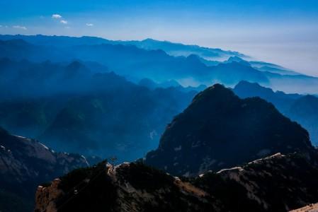 华山风景5K高端电脑桌面壁纸