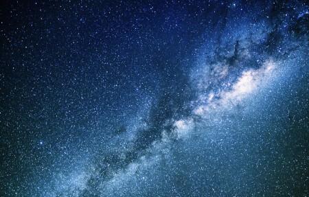 银河系 空间 星空4K高端电脑桌面壁纸