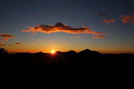 日落 天空 丘陵 日出 黄昏 地平线 云 5K风景图片