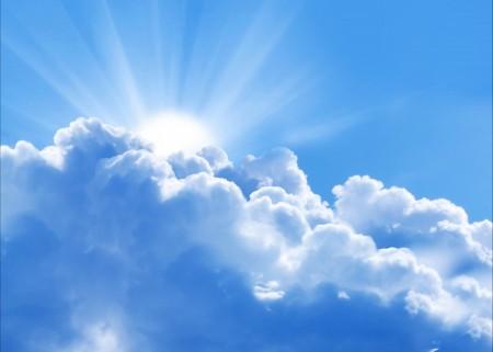 天空 云 太阳 6K高端电脑桌面壁纸
