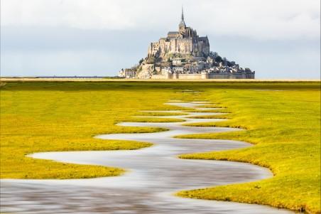 法国诺曼底风景4K高端电脑桌面壁纸