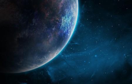 空间 星系 行星 宇宙 背景 星空4K高端电脑桌面壁纸3840x2160
