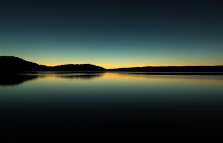 俄勒冈州保利纳湖5K风景高端电脑桌面壁纸