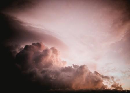 天空 日落 晚上 云 光 5K风景图片