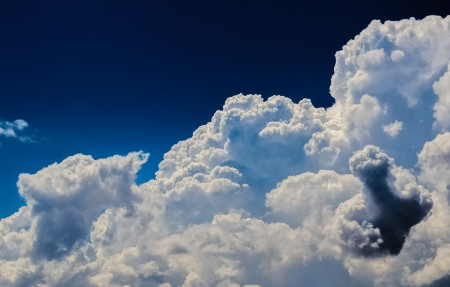 云 积云 天空 自然 4K风景高端电脑桌面壁纸
