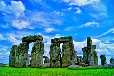 英国 巨石阵 纪念碑 4K风景高端电脑桌面壁纸