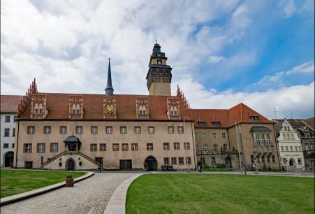 德国旧城区房屋风景摄影5k图片