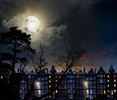 夜城风景4K图片