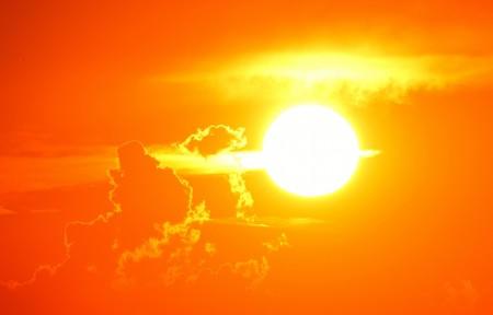 日落 浪漫 太阳 余辉 黄昏6k图片