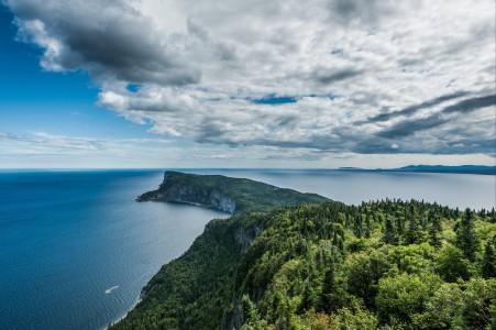 岩石 水 树 天空 4K风景图片