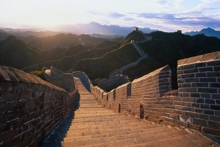 中国长城风光4k风景图片