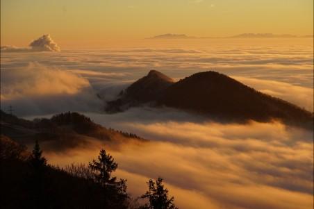 云 雾之海 4k风景图片