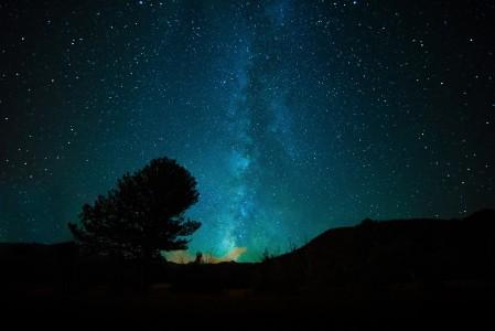 银河 空间 宇宙 天空 夜 星空