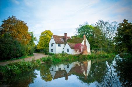 英格兰 英国 英吉利 农村 乡村 河 4K风景图片