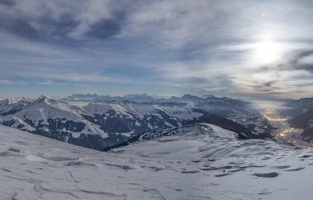 冰川 高山 冰 雪 6K风景图片