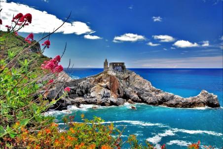 意大利海边风景4K图片