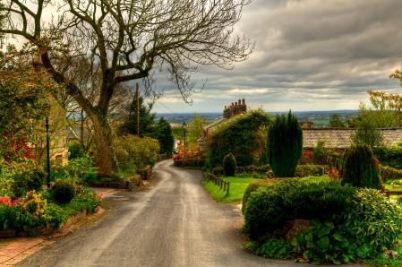 英国 英格兰 乡村 道路 4K风景图片