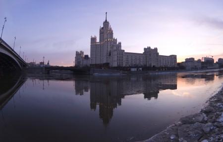 莫斯科建筑风光摄影5k图片